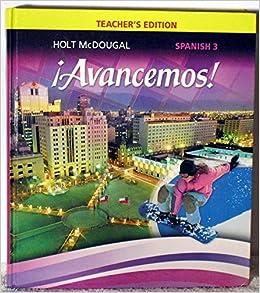 Amazon.com: ?Avancemos!: Teacher Edition Level 3 2013 ...
