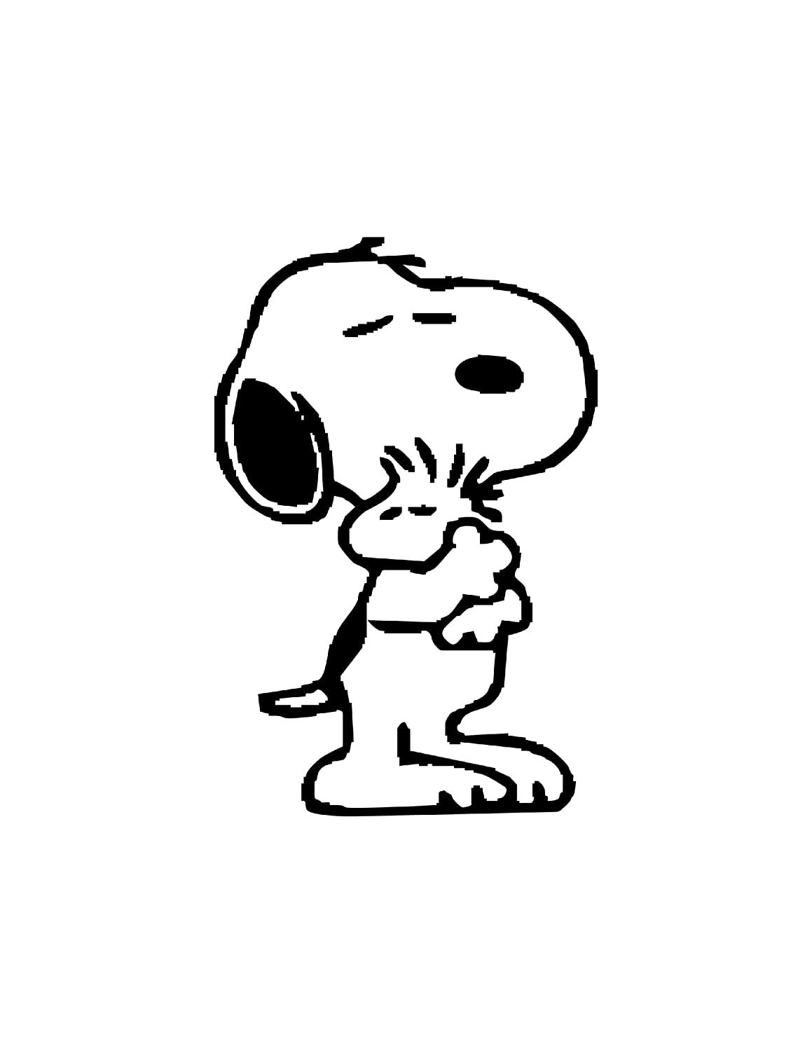 Woodstock From Peanuts Coloring Page Coloring Pages