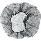 Disposable Regular Nylon Breathable Honeycomb Hair Nets, Brown