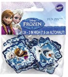Wilton Industries 2113-4500 Disney Frozen Fun Pix Cupcake Decor