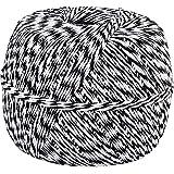 Black White Baker's Twine 1/2 Lb Spool (Approx 1500 Feet / 500 Yards)