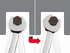 TEKTON Combination Wrench Set, 11-Piece (1/4-3/4 inch) - Keeper | WCB91101 (Tamaño: 11-Pc. (1/4-3/4 in.))