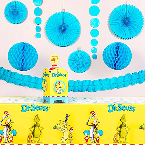 Dr Seuss Party Supplies - Value Party Decoration Kit