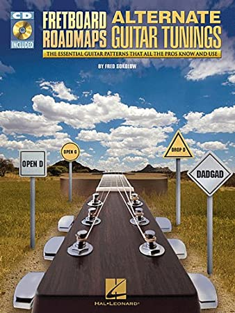 Fretboard Roadmaps - Alternate Guitar Tunings - Book and CD Package - TAB