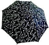 Punk Rock Retro SAFETY PINS Rain Umbrella