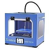 QIDI TECHNOLOGY New Generation 3D Printer:X-one2,Metal Frame Structure,Platform Heating (Color: Blue)