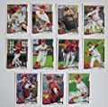 Arizona Diamondbacks 2014 Topps MLB Baseball Regular Issue Complete Mint 22 Card Team Set with Paul Goldschmidt, Martin Prado Plus