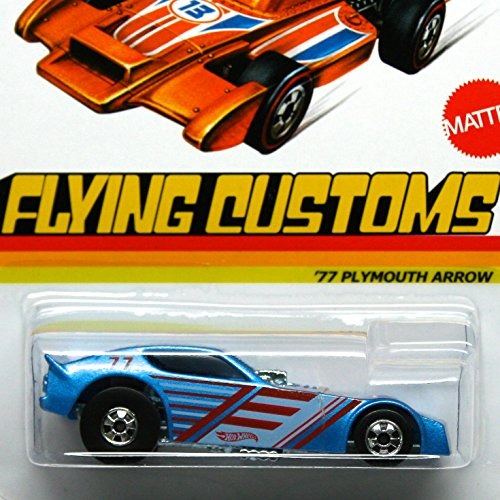 Hot Wheels 2013 Flying Customs '77 Plymouth Arrow 1:64 Scale - 1