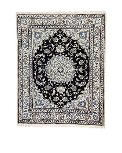 Eden Carpets Alfombra Nain K Beige/Azul/Negro 195 x 154 cm