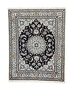 L'EDEN DEL TAPPETO Alfombra Nain K Beige/Azul/Negro 154 x 195 cm
