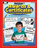 img - for Webber Awards & Certificates for Speech-Language Pathologists with Printable CD-ROM by Sharon G. Webber, M.S., Karla Duncan, Amy Jundi-Mace(January 1, 2003) Spiral-bound book / textbook / text book