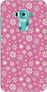 The Racoon Lean Pink Flower Collage hard plastic printed back case/cover for Asus Zenfone 3 Ze552Kl