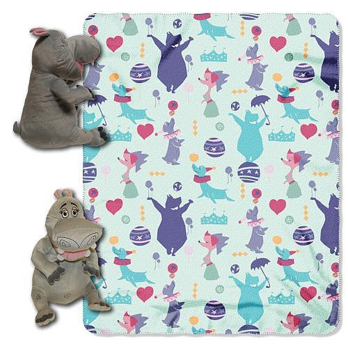 Madagascar Microfleece Hugger Toy & Throw Blanket - Gloria