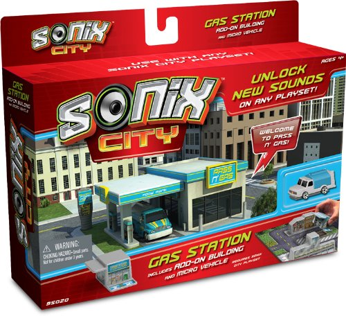 Sonix City Gas Station Building Add-on - 1