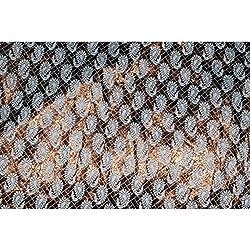 Aagaman Fashions Brocade Fabrics (TSFB032_Brown)