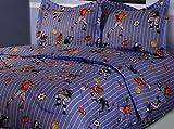 Twin Microfiber Kids Athletes Bedding Comforter Set
