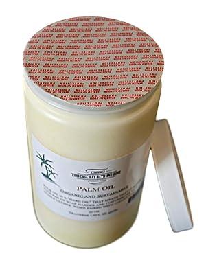 Palm Oil, Soap Making Supplies. Organic, Sustainable, Kosher, 32 fl oz. DIY Projects. (Tamaño: 32 fl oz)