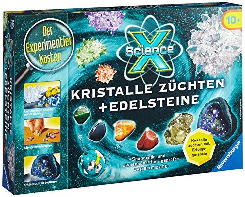 Ravensburger-18883-ScienceX-Kristalle-zchten-und-Edelsteine