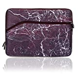 Cosmos ® Neoprene Protective Laptop Notebook Sleeve Case Bag for For All 13-inch Laptops-Macbook Pro 13/Macbook Air 13/Macbook Pro Retina Display 13, Dark Red Marble Pattern