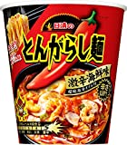 日清のとんがらし麺 激辛海鮮味 98g×12個