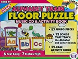 img - for Alphabet Train (Giant Floor Puzzle & Music Sets) book / textbook / text book