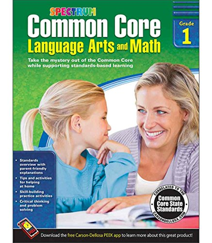 Common Core Language Arts and Math Resource Book Grade 1 - 1