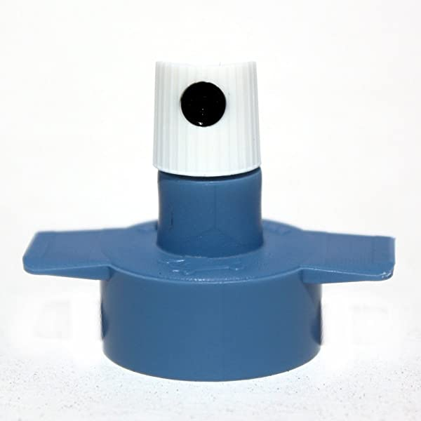 Uprok Two Finger Wing Cap Spray Paint Adapter Set 5ct Plus 5 NY Fat Caps (Color: blue, Tamaño: Wide)