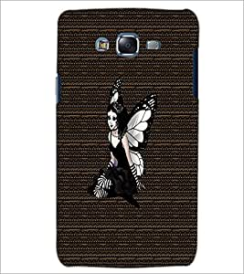 PrintDhaba Angel D-3265 Back Case Cover for SAMSUNG GALAXY ON 5 (Multi-Coloured)