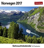 Kalender 2017 Tischkalender Sehnsuchtskalender Norwegen 17