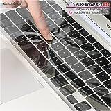 キーボードカバー・PURE WRAP KEY #03 for Apple MacBook Series Flat Surface Keyboard Cover クリア(光沢のある透明)PWK03
