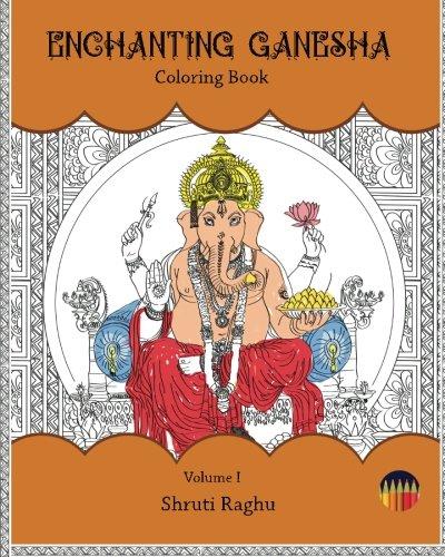 Enchanting Ganesha: Coloring Book (Volume 1) PDF