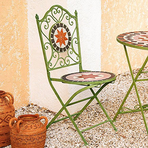 Gärtner Pötschke Mosaik-Stühle Roma antica, 2er-Set günstig kaufen