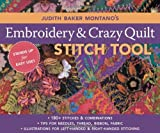 Judith-Baker-Montano's-Embroidery--Crazy-Quilt-Stitch-Tool-180+-Stitches--Combinations---Tips-for-Needles-Thread-Ribbon-Fabric---Left---Right-Handed-Illustrations