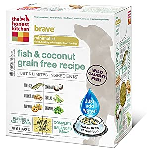 The Honest Kitchen Brave: Fish & Coconut Grain Free Dog Food, 10 lb