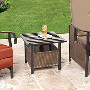 patio lawn garden patio furniture accessories tables side tables
