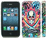 IPhone 4 / iPhone 4G Hard Back Case Cover - Ed Hardy by Christian Audigier