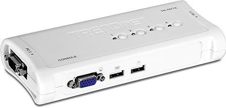 KVM 4 Ports VGA/USB