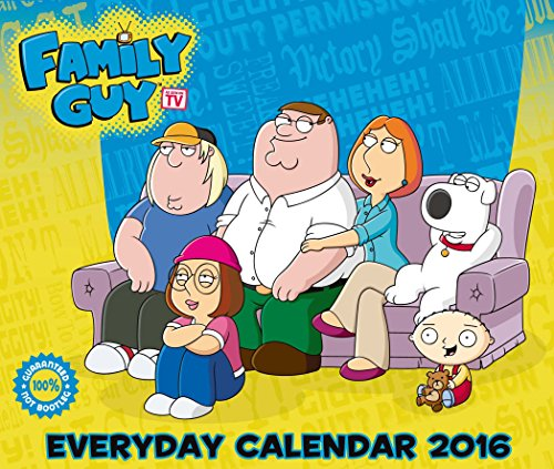 The Official Family Guy 2016 Desk Block Calendar (Box)