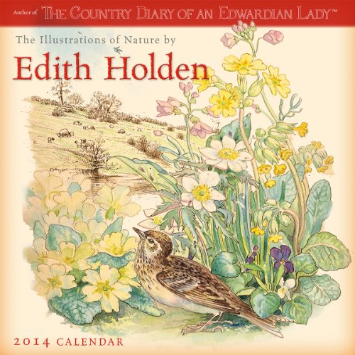 Illustrations of Nature by Edith Holden 2014 Wall (calendar)
