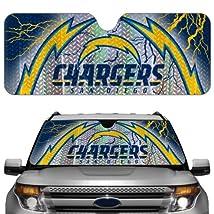 NFL San Diego Chargers Auto Sun Shade