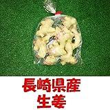 九州 長崎県産 農産物直売所 販売用 生姜 1袋
