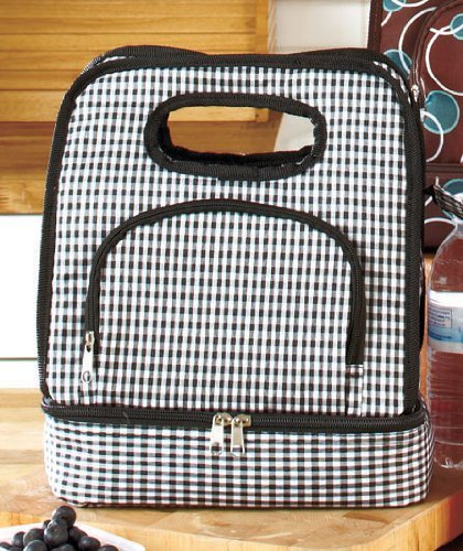 3-compartment Insulated Lunch Totes