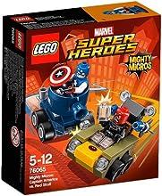 Comprar LEGO Super Heroes - Playset Mighty Micros: Capitán America, multicolor (76065)