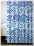 New Greek Mosaic Bathroom Bath Fabric Shower Curtain