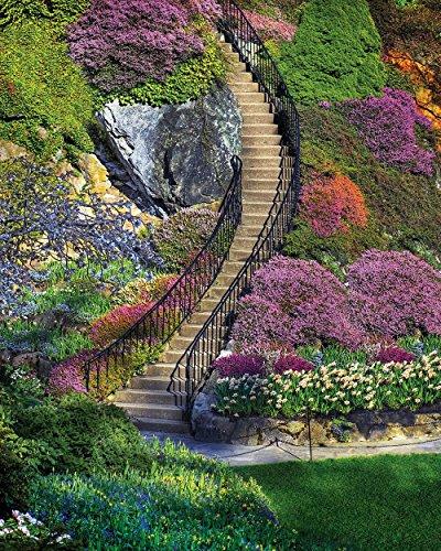 Springbok Garden Stairway Jigsaw Puzzle (500-Piece)