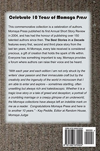 The Best Stories in a Decade - A Review of Momaya Press from 2004 to 2013