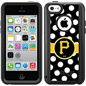 Coveroo Commuter Series Case for iPhone 5c - Retail Packaging - Pittsburgh Pirates - Polka Dots Design