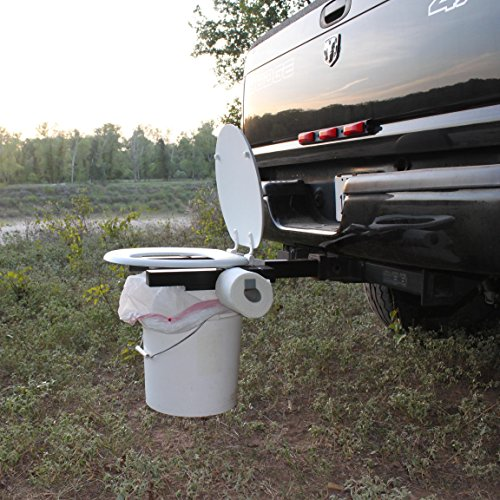 Bumper Dumper The Original Hitch Mountable Portable Toilet (Made In USA) (Toilet Seat For Trailer Hitch compare prices)