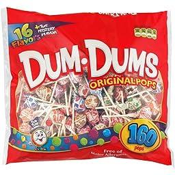 Dum Dums Original Pops, 160 ct
