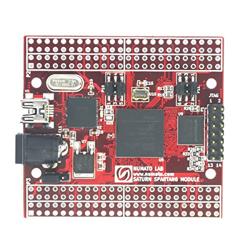Numato lab saturn spartan 6 fpga development board with for Spartan 6 architecture